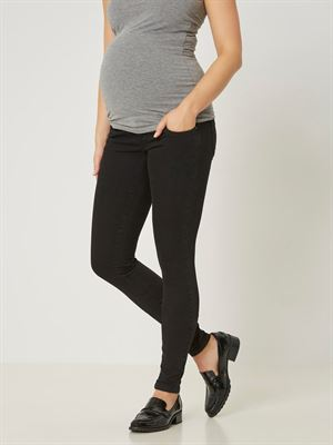 JULIANE slim jeans - sort